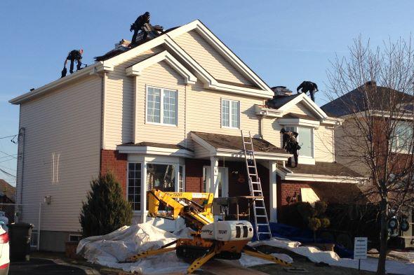 R novation de toiture ch teauguay candiac brossard boucherville - Renovation de toiture prix ...